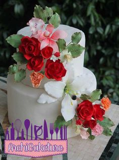 Flowers Cake - Cake by Archicaketure_Italia