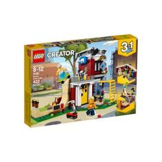 Shop LEGO Creator Modular Skate House 31081 at Best Buy. Find low everyday prices and buy online for delivery or in-store pick-up. Porsche 911 Rsr, Lego Skateboard, Legos, Lego Dc Comics, Skate Ramp, Shop Lego, Buy Lego, Lego Building, House Building