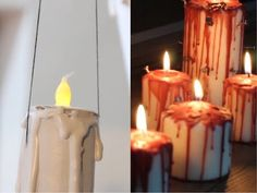 Kendin Yap Korkunç Mumlar | DIY Scary Candles - YouTube