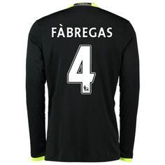 Chelsea 16-17 Cesc #Fabregas 4 Udebanesæt Lange ærmer,245,14KR,shirtshopservice@gmail.com
