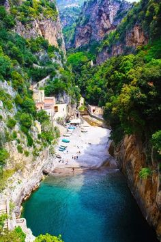Secluded Beach, Furore, Amalfi, Italy. Just for you on http://www.exquisitecoasts.com/