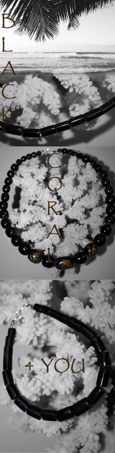 @BlackCoral4you  black coral bracelet and necklace  http://blackcoral4you.wordpress.com/  coral negro brazalete y collar  mail: blackcoral4you@galicia.com  Galicia - SPAIN
