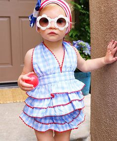 Would be soooo cute for the 4th of July