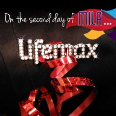 On the second day of Mila, get ready for a holiday party by pinning some shiny Lifemax bling on that little black dress! Use it as an opportunity to share about your business.     http://lifemaxmarket.com/index.php/apparel/merchandise/lifemax-ladies-bling-brooch.html