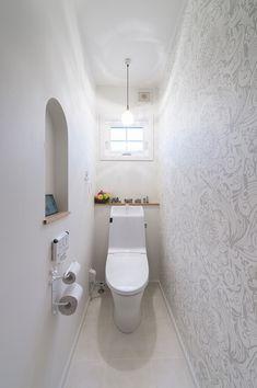 Bathroom Design Luxury, Interior Design Kitchen, Under Stairs, Powder Room, Diy And Crafts, Wall, Perfume, Home, Tiny Bathrooms