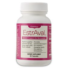 EstrAval® #Menopause Support - Naturally ease menopausal symptoms and cycle irregularity with an exclusive blend of plant estrogens.*  Preferred Price $20.89  #Melaleuca #vitamins