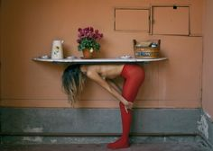 urban ironing board gardening | photo: giuseppe palmisano
