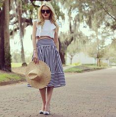 Nautical Beauty Skirt – Dress Me Good