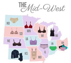 The folks at True & Co. surveyed their customers and found the most popular lingerie everywhere.