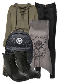 """""""Kai Inspired Outfit"""" by fangsandfashion ❤ liked on Polyvore featuring WearAll and Hot Topic"""