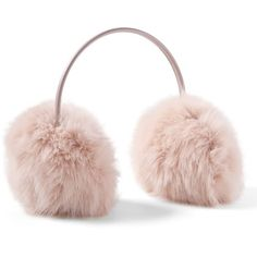 Faux Fur Earmuffs (639.935 IDR) ❤ liked on Polyvore featuring accessories and faux fur earmuffs