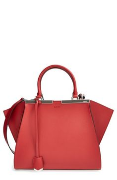 fbb65cc89fdf Fendi  Petit 3Jours  Leather Shopper available at  Nordstrom Fendi Tote