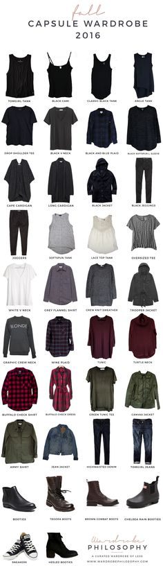The Fall Capsule Wardrobe is now available on Wardrobe Philosophy! Learn how to take your overwhelmed wardrobe and de-stress it today!