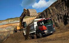 Scania scraper