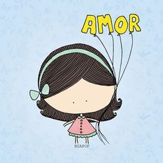 Ah o amor ❤ Little Girl Illustrations, Ah O Amor, Let's Talk About Love, Portuguese Quotes, Friendship Love, Printable Quotes, Just Smile, Cute Pattern, Family Love