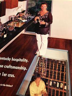 Ceiling Materials, Wine Storage, Kitchen, Cooking, Kitchens, Cucina, Stove, Wine Bottle Storage, Cuisine