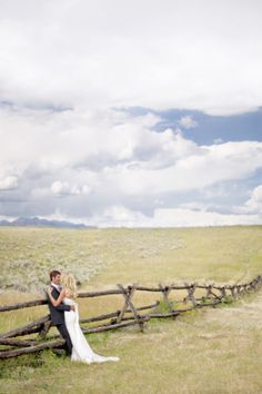 Our wedding in Jackson Hole, Jonathan and Jen owners of Grizzly Country Wildlife Adventures Jackson Wyoming, Yellowstone, Grand Teton National Park Scenic and Wildlife Tours www.grizzlycountr... #Jacksonhole #Jacksonholeweddings