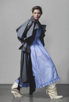Vogue Ukraine February 2018 Hana Jirickova by Marco van Rijt