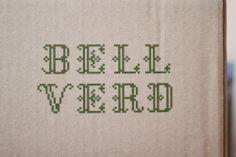Bell Verd (lovely green) Olive Oil — The Dieline