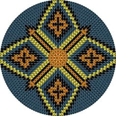 """The location where building and construction meets style, beaded crochet is the act of using beads to decorate crocheted products. """"Crochet"""" is derived fro Crochet Chart, Bead Crochet, Crotchet Bags, Mochila Crochet, Tapestry Crochet Patterns, Beadwork Designs, Tapestry Bag, Crochet Purses, Loom Beading"""