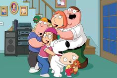 Family Guy at Is Seth MacFarlane's deviant dad still a man for all seasons? 'There is room for highbrow and lowbrow, and with 'Family Guy' we try to embrace a balance between the two,' MacFarlane Peter Griffin, Meg Griffin, Griffin Family, Family Guy Season 16, Family Guy Episodes, Full Episodes, Seth Macfarlane, Family Guy Quotes, Fan Theories