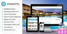 Latest WordPress Hotel Themes - August 2015 - PurelyThemes