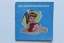 MINI-BUCH - DAS SONNENSCHIRMCHEN - Pestalozzi-V. - 50er Jahre - gebr. - ORI & RR