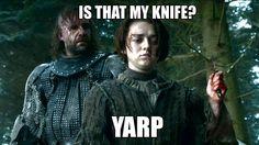 Arya and the Hound... YARP