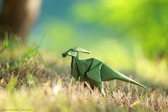 Parasaurolophus ( origami )