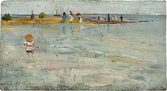 Charles Conder  Ricketts Point, Beaumaris  1890