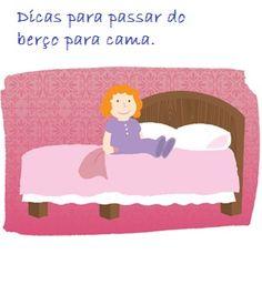 Dicas para passar seu bebe do berço para cama