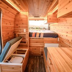 The 5 Best Affordable RVs and Camper Vans for Sale Butcher Block Table Tops, Butcher Block Countertops, Rent Camper, Camper Van, Kitchen Box, Full Size Mattress, Foldable Chairs, Cubby Storage, Van For Sale