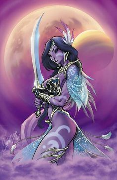 Jirni by J. Scott Campbell