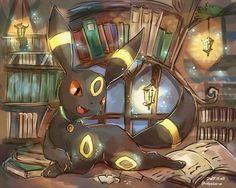 Hey, everyone ^w^ How ya like my book collection? Pokemon Umbreon, Pokemon Team, Pokemon Fan Art, Gif Pokemon, Umbreon And Espeon, Pikachu, Eevee Evolutions, Pokemon Pins, Pokemon Cards