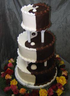 SedonaWeddingCakes - looks like the best of both worlds.  CAKE!