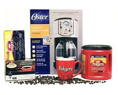 Enter daily for more chances of winning a Folgers Prize Pack. Enter here now! Drip Coffee Maker, Packing, Giveaways, Canada, Free Samples, I Win, Drink, Food
