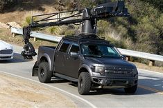 Top Gear is using this Raptor as a camera rig to film Tanner Foust