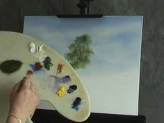 Oil Painting Lesson - Wilson Bickford -  Leaf Tree