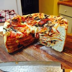 Marry Her: Best Girlfriend Ever Makes Boyfriend Pizza Cake For His Birthday (Photos)