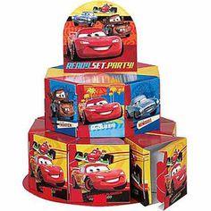 Disney Cars Centerpiece Favor Boxes