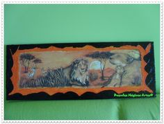 Savana com leão2