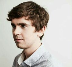 Me: *squeals because is Mega Freddie Highmore fan* Mother: maybe we need to take a break from Freddie August Rush, February 14, Freddie Highmore, Good Doctor Series, Pretty People, Beautiful People, Shaun Murphy, Ryan Thomas, Norman Bates