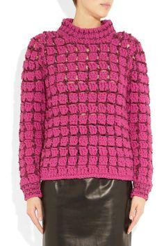 Marc Jacobs Fall 2012 Crochet