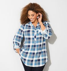 Go cowgirl chic in plaid for fall!