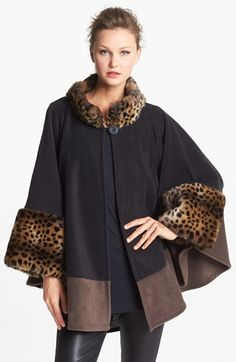 This is sooo cute :-)Parkhurst 'Mosaic' Cape available at #Nordstrom