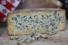 "Birchrun Blue, a raw ""Stilton"" from Sue Miller in PA"