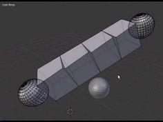 Tutorial Blender 3D 2.5 - Corso di base - 22: Mesh Modifiers: modificatori Array Bevel Build - #BasiModellazioneEAnimazione #Blender #Blender3D25 #CorsoBlender #InterfacciaGrafica #LezioniBlender #Redbaron85 #Videotutorial http://wp.me/p7r4xK-cc