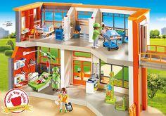 Furnished Children's Hospital - 6657 - PLAYMOBIL® United Kingdom