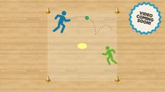 Spot Ball - Net and Wall Games | ThePhysicalEducator.com