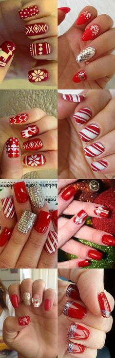 12 Stunning Christmas Nail Designs To Make Your Day. #Christmas #Nail #Designs